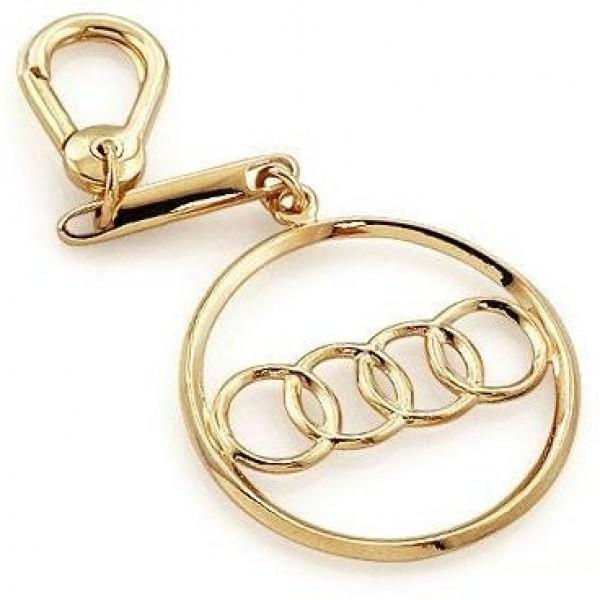 """Брелок """"Audi"""" из красного золота"""