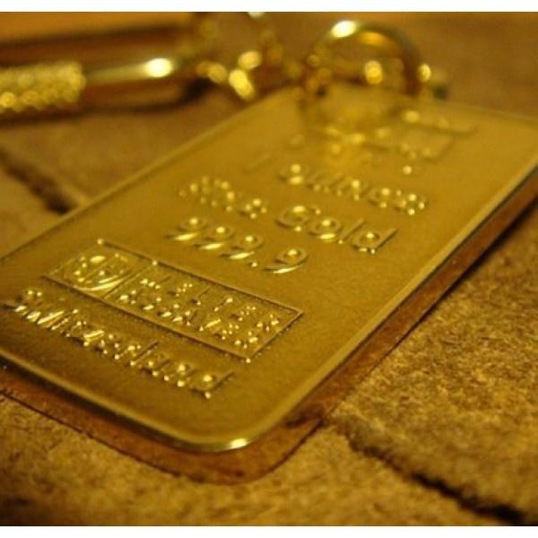 Брелок из чистого золота