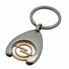"""Брелок """"Opel"""" из комбинированного золота.."""