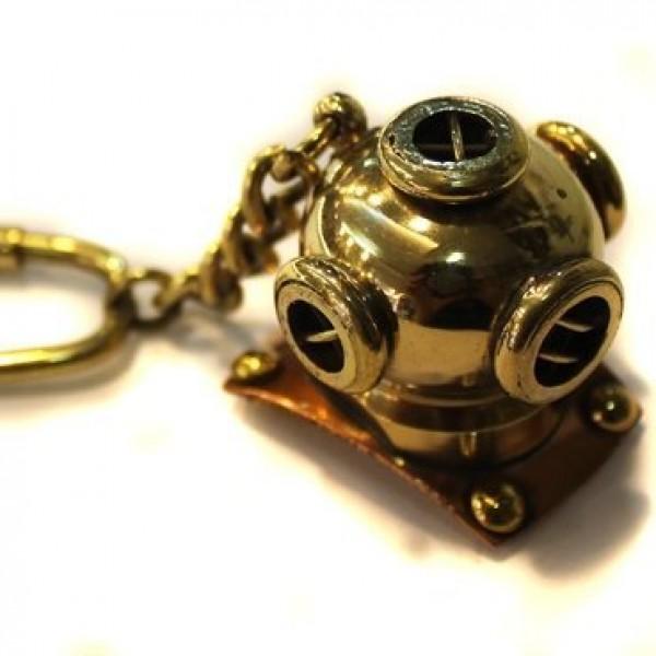 """Брелок """"Подводника"""" из желтого золота"""