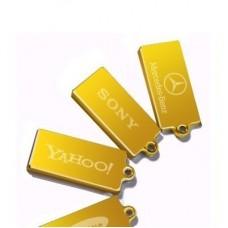 """Брелок """"Слиток"""" из желтого золота.."""