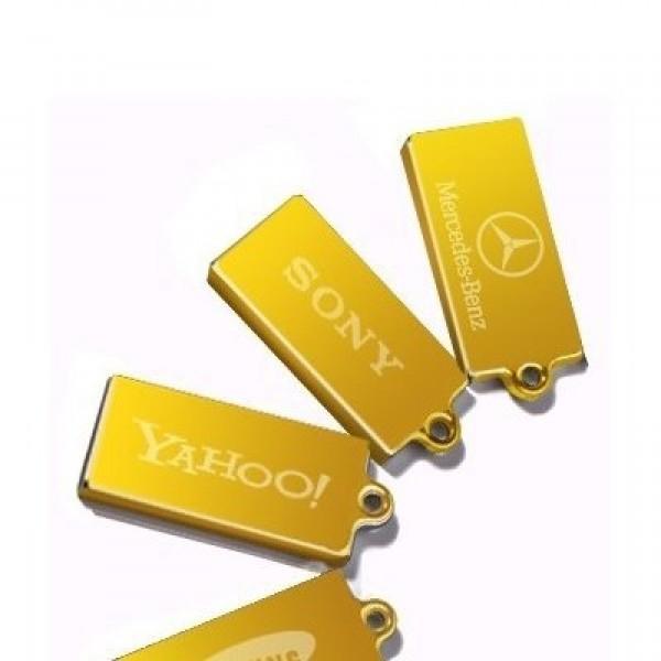 """Брелок """"Слиток"""" из желтого золота"""