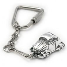 "Брелок ""VW"" из белого золота.."
