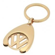 "Брелок ""VW"" из красного золота.."