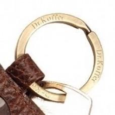 Кольцо для ключей из золота..