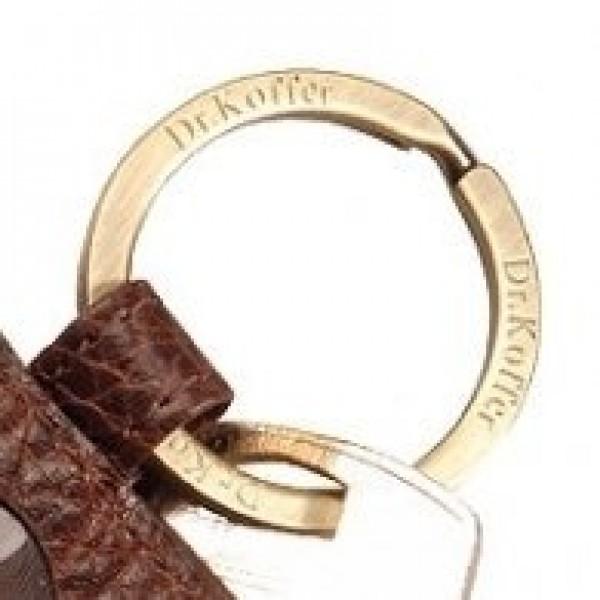 Кольцо для ключей из золота