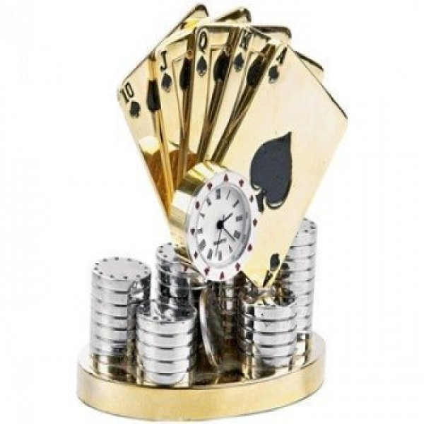 """Композиция """"Royal Flush"""" из комбинированного золота"""