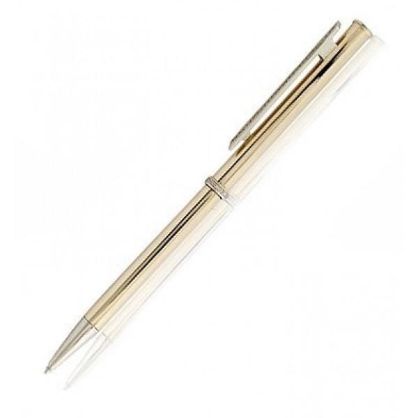 Ручка шариковая из комбинированного золота