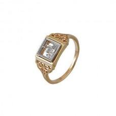Мусульманское кольцо из комбинированного золота..