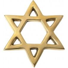 Звезда Давида из желтого золота..