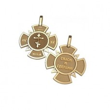 Крест из красного золота..