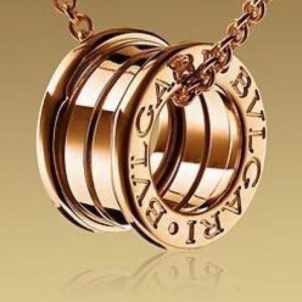 "Кулон ""Bvlgari"" из красного золота"