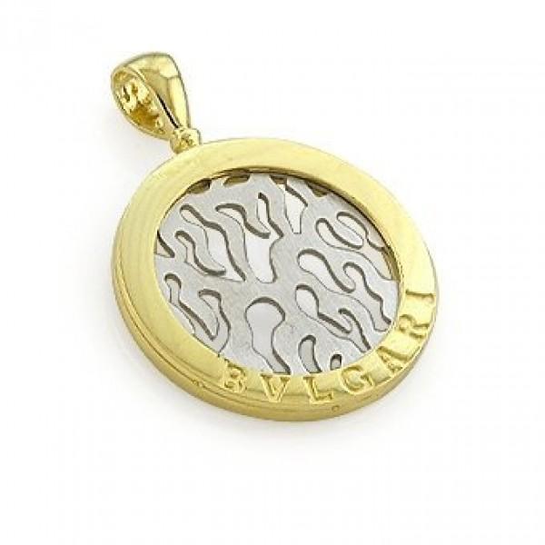 Кулон из комбинированного золота
