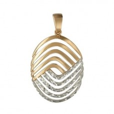 Кулон из комбинированного золота..