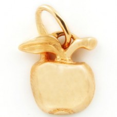 Кулон из красного золота..