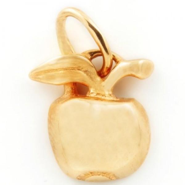 Кулон из красного золота