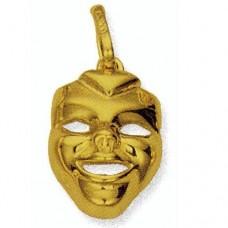 Кулон из желтого золота..