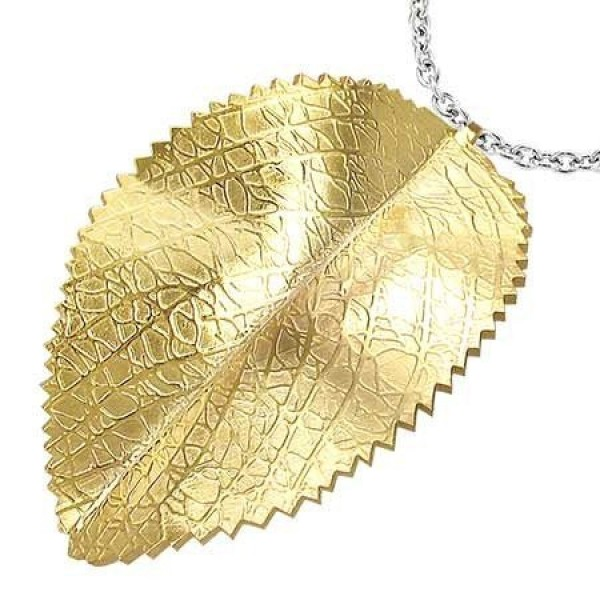 Кулон из желтого золота