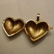 "Кулон ""Сердце"" из красного золота.."
