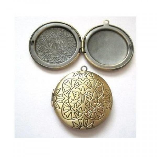 Медальон из  желтого золота