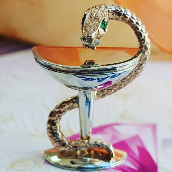 "Значок ""Чаша со змеёй"""