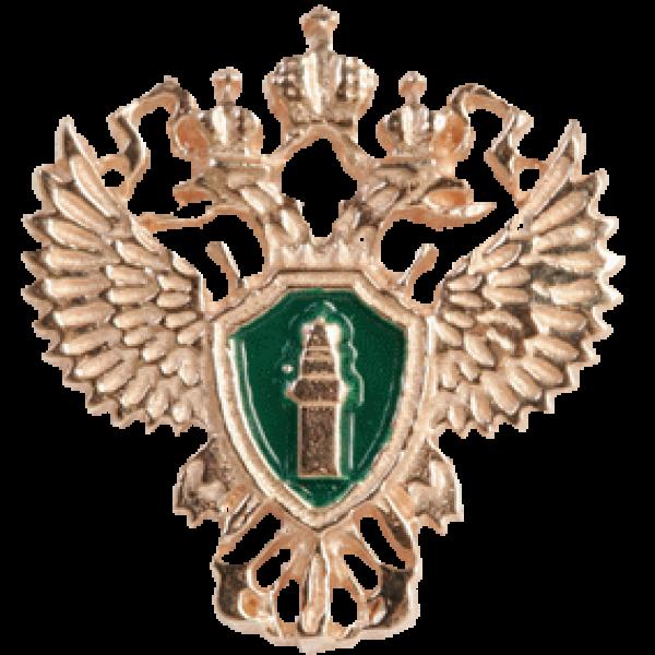 "Значок ""ГенПрокуратура РФ"" из красного золота"